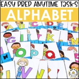 Laminate, Velcro, and Go! Anytime Alphabet Tasks