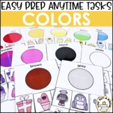 Laminate, Velcro, and Go! Anytime Color Tasks