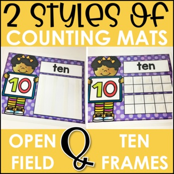 Laminate, Velcro, and Go! Anytime Counting (0-20) Tasks