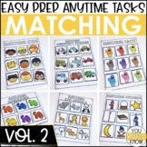 Laminate, Velcro, and Go! Anytime Matching Tasks VOLUME 2
