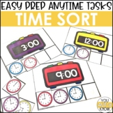 Laminate, Velcro, and Go! Anytime Telling Time Tasks
