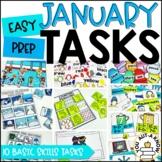 Laminate, Velcro, and Go! Seasonal Work Tasks: JANUARY EDITION