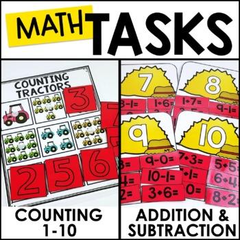 Laminate, Velcro, and Go! Seasonal Work Tasks: MAY EDITION