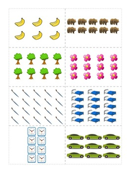 Laminated Cards - Use Arrays for Common Core 2.OA.4 or Use to form Jigsaw Groups