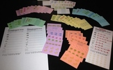 Laminated Cards - Use Arrays for Common Core 2.OA.4 or Use