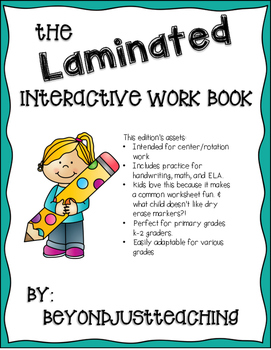 Laminated Interactive Notebook