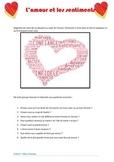L'amour les sentiments  - CE CO EO Gram (subjonctif / indicatif)