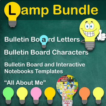 Back to School LAMP BUNDLE: Ideas For Bulletin Board and Classroom Community