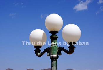 Lamp Post Sphere Stock Photo #110