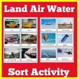 Land Air Water Sort
