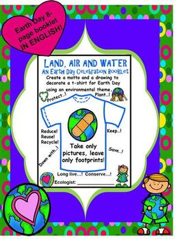 Land, Air and Water - An Earth Day Celebration Booklet
