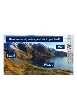 Land, Air and Water Science Flipchart for ActivInspire