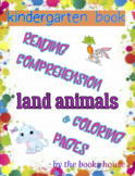 Land Animals Reading Comprehension For KG