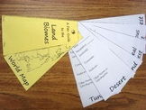 Land Biome Study Aid/Fan Guide Foldable