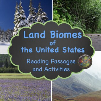 Land Biomes of the United States: Six Informational Reading Passages