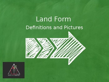 Land Form Define and Draw  PowerPoint