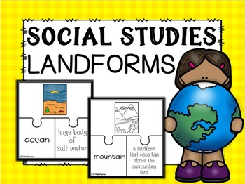 Land Forms Puzzles