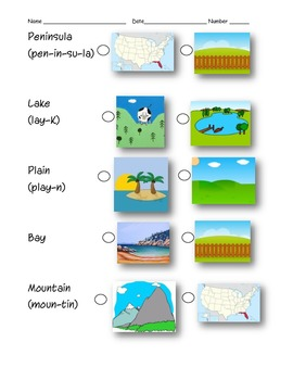Land Forms and Water Formations