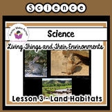 Land Habitats Science Interactive Notebook