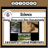 Land Habitats Interactive Notebook
