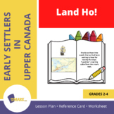 Land Ho! An Early Settlers Lesson Grades 2-4