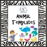 Animal Templates - Land, Ocean, & Farm