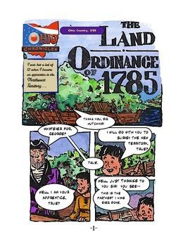 Land Ordinance of 1785--the COMIC BOOK!