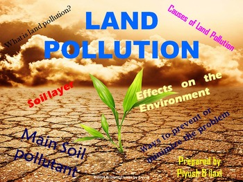 Pollution, throwing the natural environment off balance