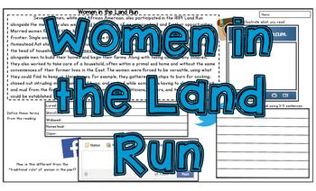 Land Run: Women