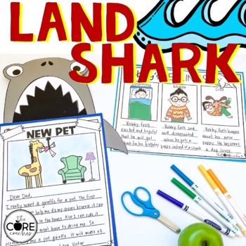 Land Shark: Interactive Read-Aloud Lesson Plans and Activities
