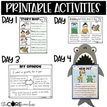 Land Shark Interactive Read-Aloud | Distance Learning