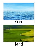Land, Sky, and Sea Cards