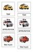 Land Transportation (3-Part Montessori Cards)