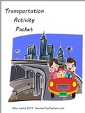 Land Transportation Activity Packet