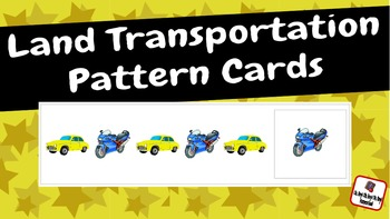 Pattern Cards: Land Transportation Pattern Cards