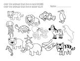 Land VS Water Animals
