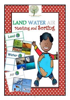 Land Water Air Sorting and Matching