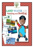 Land Water Air Sorting and Matching