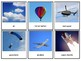 Land Water Air Transportation Montessori 3 Part Cards