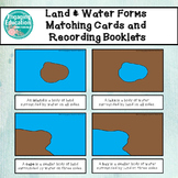 Land & Water Forms Matching Cards and Differentiated Recording Booklets
