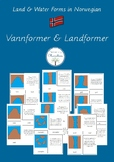 Land & Water Forms (Norwegian)