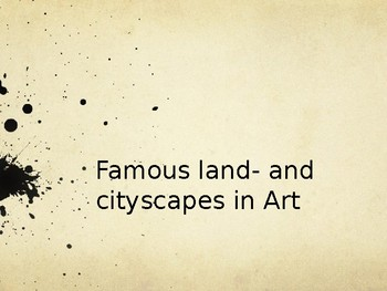 Land- and Cityscapes PPT