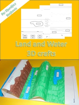 Land and Water 3D crafts