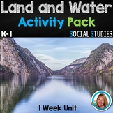 Land and Water Activities for Kindergarten and 1st Grade Week Unit