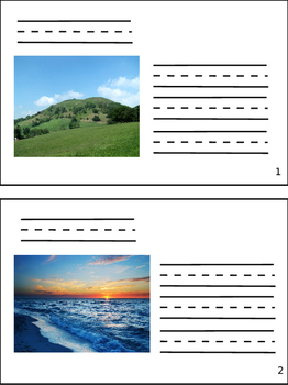 Land and Water Formation Book
