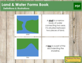 Simple Land and Water Forms Book