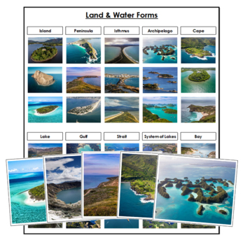 Land and Water Forms Bundle