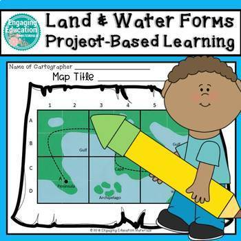 Land and Water Forms Project Based Learning