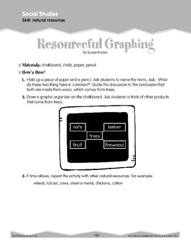 Land and Water Forms and Natural Resources (Ten-Minute Activities)