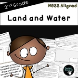 Land and Water-NGSS Lesson (Second Grade-2-ESS2-2)